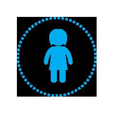 兒(er)童生存圖標