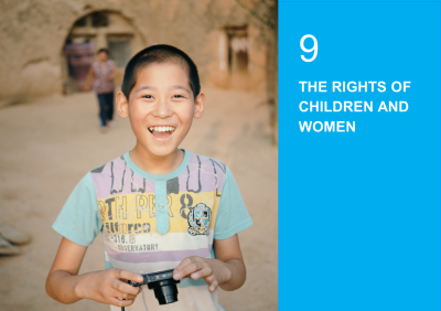 THE RIGHTS OF CHILDREN AND WOMEN